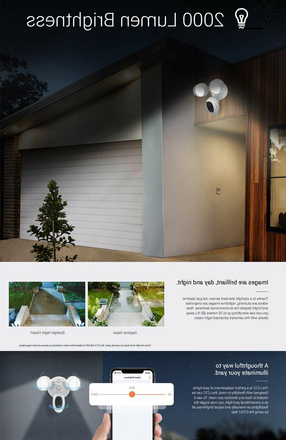 EZVIZ Outdoor Camera WIFI Night Vision Audio LC1C