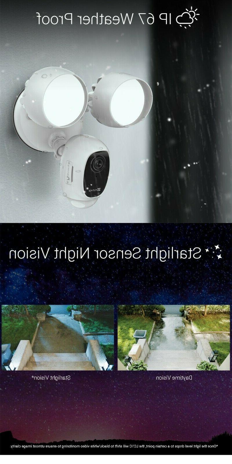 EZVIZ Outdoor WIFI 1080P Night Vision Audio LC1C