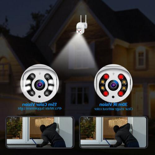 KERUI Security Camera Wireless Waterproof 2MP PTZ IP Cam