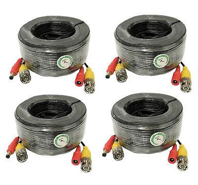premium quality 4x25ft video and power cable