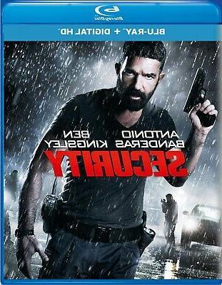 Security Blu-ray Ben Kingsley NEW