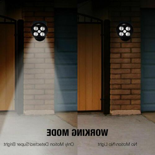 Solar Motion Home Security Light Flood Guardian Spotlight