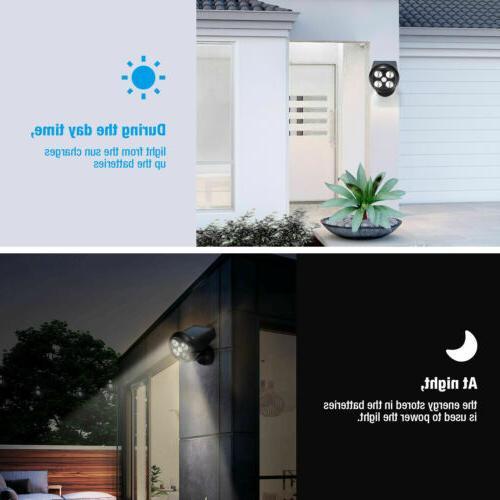 Solar Sensor Home Guardian Torch