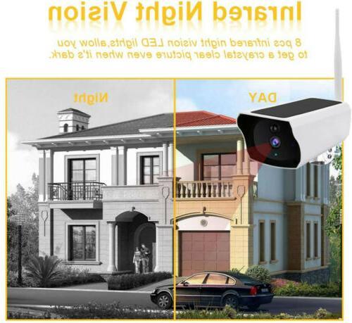 1080p WiFi Ip67 Night Vision Security Wireless