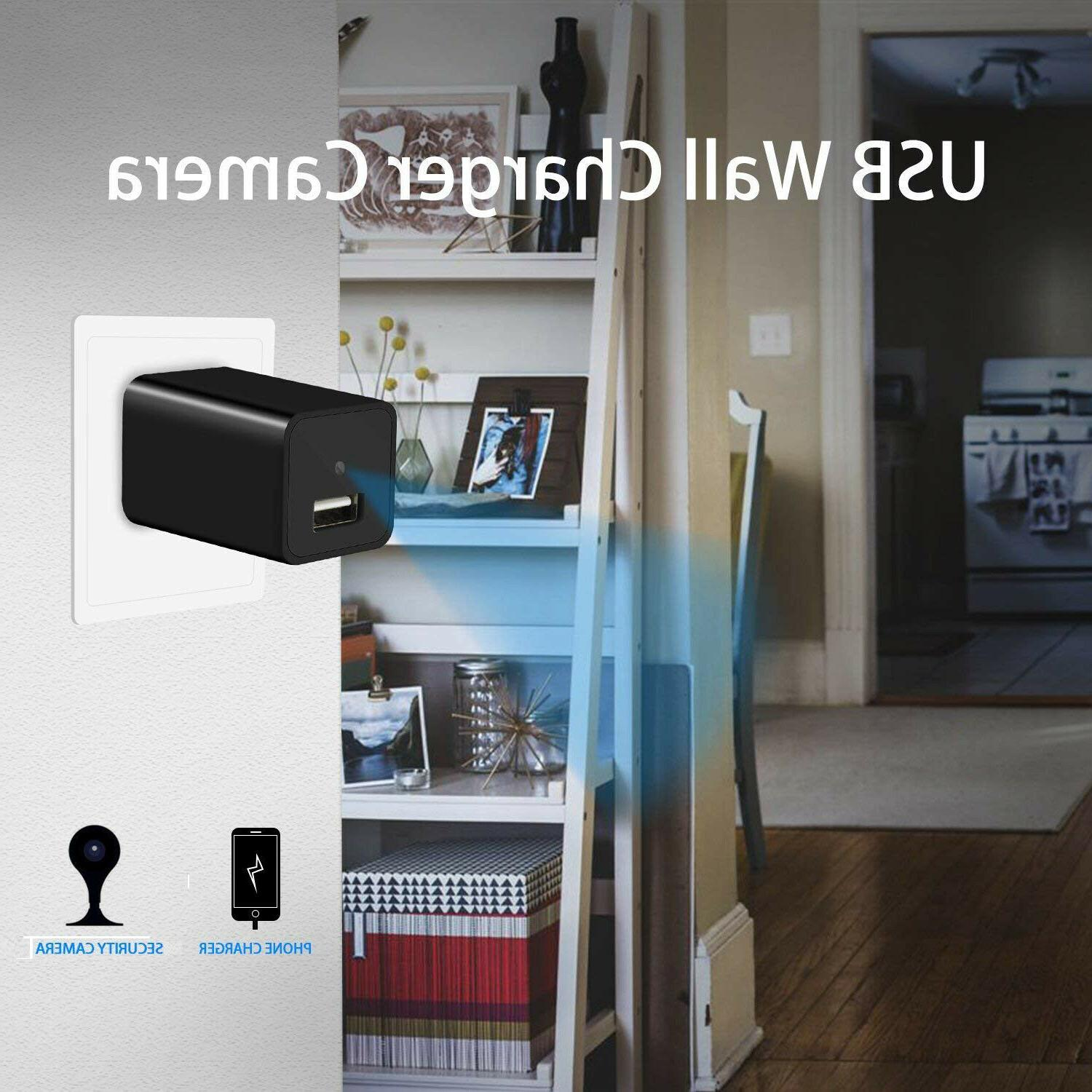 Surveillance Hidden Motion Detection HD1080P Charger