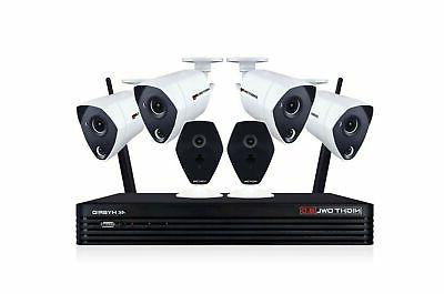 ultra hybrid security system wired