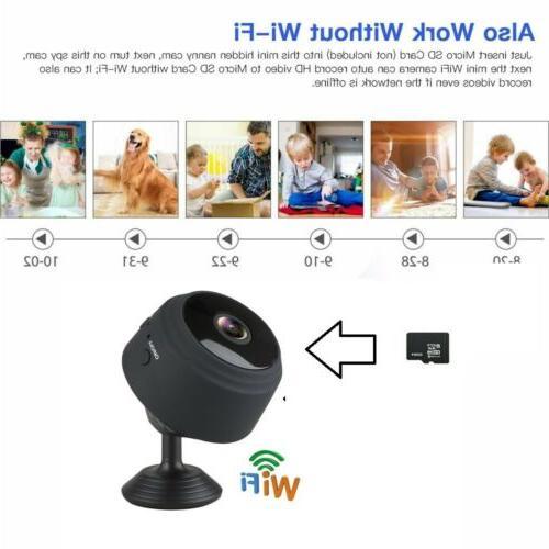 USA Mini Wireless Wifi Home Security HD Vision Remote