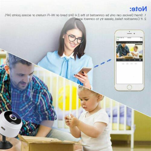 USA Mini Camera Wifi IP Home Security HD Vision