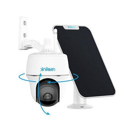 wifi security camera 1080p battery pan tilt