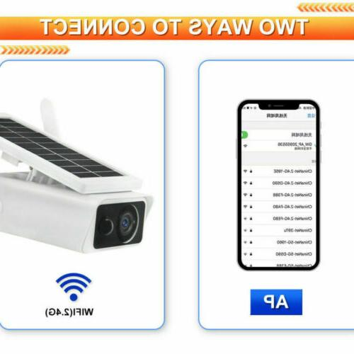 Wifi Wireless Power CCTV Security Outdoor