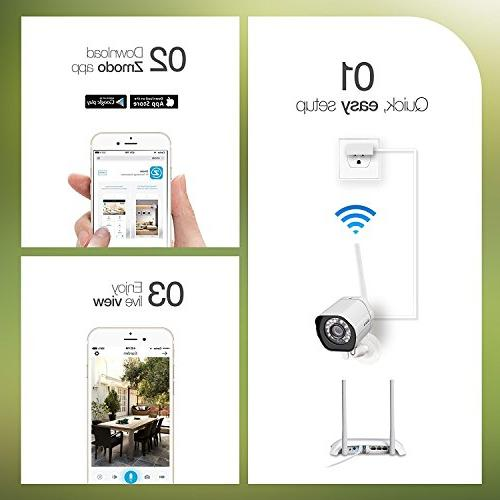 Zmodo System WiFi Night