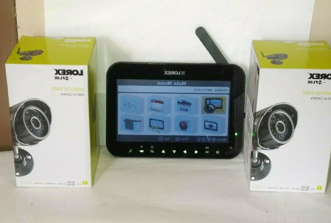 wireless security system w 4 cameras