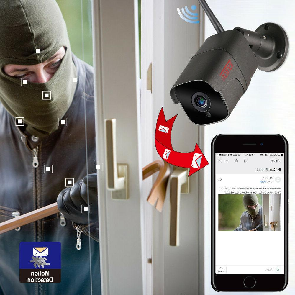 Tonton IP Camera 2MP Security Waterproof IR Night