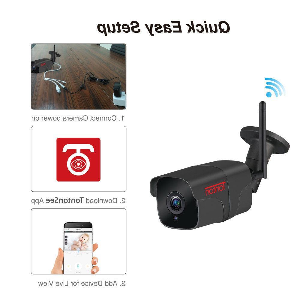 Tonton Wireless WIFI IP Camera 1080P 2MP Security Night