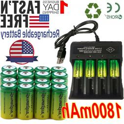 Lot Rechargeable CR123A 3.7V  Batteries for Netgear Arlo Sec