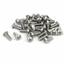 M3x8mm 304 Stainless Steel Button Head Torx Security Machine