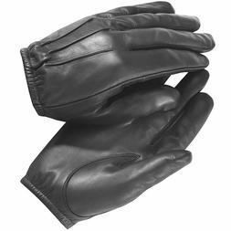 made with Kevlar Black Leather Gloves Security SIA Police Se
