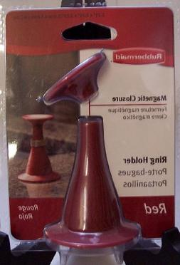 Rubbermaid Magnetic Closure Ring Holder Red