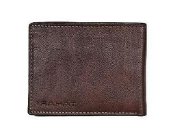 Tahari Men's RFID Security Blocking Bifold Leather Antique P