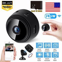 Mini Wireless Wifi Hidden Spy Camera Home Security HD 1080P