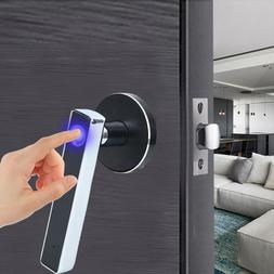 Modern Fingerprint Door Lock Smart Stainless Steel Home Secu