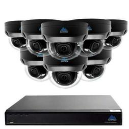 Montavue-Home Security System w/ 8 2K 4MP Vandal Dome Camera
