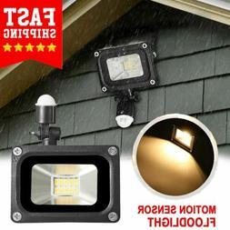 Motion Sensor Flood Light Waterproof Security Safety LED Lig