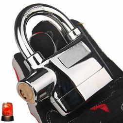 Motorcycle Waterproof Alarm Padlock Perfect Security With 11