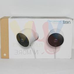 Google - Nest Cam Outdoor 1080p Wi-Fi Network Security Camer