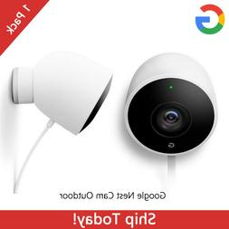 Google Nest Cam Outdoor Security Camera Wi-Fi Wired 1080P HD