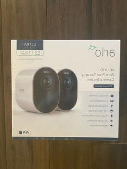 Netgear Arlo Ultra Wire-Free 4K HDR 2 Security Cameras Model