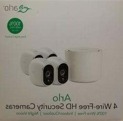 NETGEAR ARLO WIRE-FREE HD SECURITY 4 PACK CAMERAS VMS3430-10