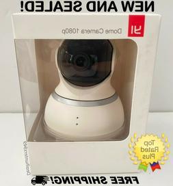 New! YI Dome Security Camera 1080p HD Pan/Tilt/Zoom 2.4G IP