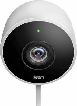 New - Google Nest Cam Outdoor 1080p Security Camera  White -