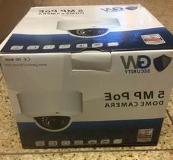 New Lot Of 10 GW Security 5 MP POE Dome Camera  HD 1080P (Ca