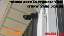 new security camera mount black gray white