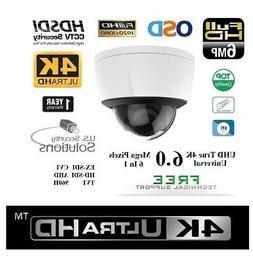 "1/3"" 6MP Sony Exmor 2.8-12MM Outdoor 40IR Dome EX-SDI / HD-S"