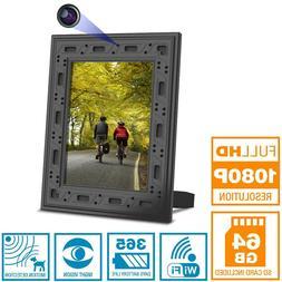 NuCam Yieye WiFi Photo Frame Hidden Spy Camera for Home/Offi