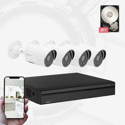 Dahua OEM Aivio 8CH Wired Security Surveillance System 4X1
