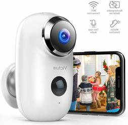 Outdoor Camera Wireless Rechargeable Battery Powered 1080P H