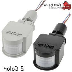 Outdoor LED Security PIR Infrared Motion Sensor Detector Swi