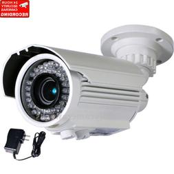 Outdoor Security Camera IR Day Night 700TVL 42 LEDs with 1/3