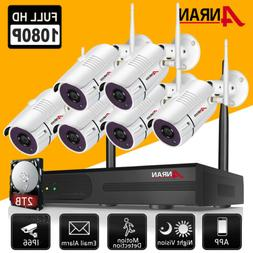 ANRAN Outdoor WiFi Home Security Camera System Wireless CCTV