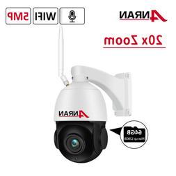 ANRAN HD 1080P Wireless Smart IP PTZ Home Security Camera Tw
