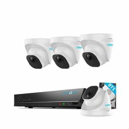 REOLINK PoE 4K 8MP Ultra HD 8CH Security Camera System, 8MP