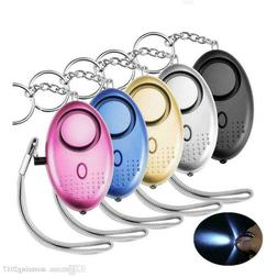 Police Approved Key ring 130 db Personal Panic Rape Attack S
