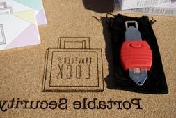 Portable Door Lock Anti-theft Travel Lock Door Security Home