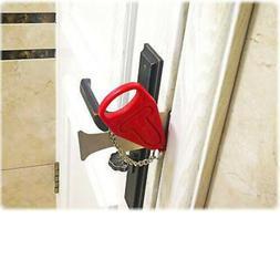 Portable Door Lock Travel Hotel Door Stopper Addalock Theft