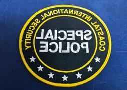 RARE COASTAL INTERNATIONAL SECURITY SPECIAL POLICE SHOULDER