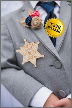 Ring Bearer Gift, Ring Security Badge, Ring Security, Ring B